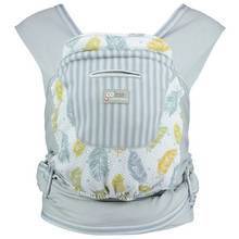 Caboo + Cotton Blend Newborn Carrier - Fearne