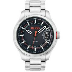 Hugo Boss Orange Hong Kong Men's Silver Steel Watch