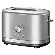 KitchenAid Manual Control 2 Slice Toaster - Contour Silver