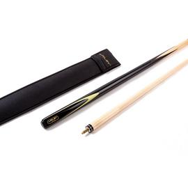 Riley 2 Piece Hardwood Snooker Cue and Black Cue Sleeve