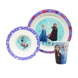 Disney Frozen 2 Three Piece Tableware Gift Box