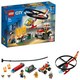 LEGO City Fire Helicopter Response Building Set - 60248