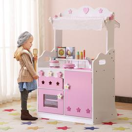 Liberty House Toys 2-in-1 Market Stall and Kitchen