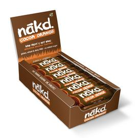 Nakd Cocoa Orange Snack Bars x 18