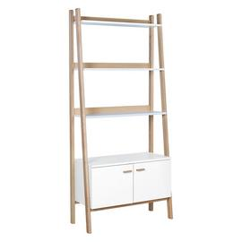 Habitat Jerry 3 Shelf Bookcase - White