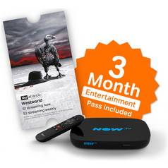 NOW TV Smart Box with 3 Month Entertainment Pass