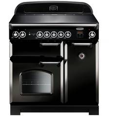 Rangemaster Classic 90cm Induction Range Cooker - Black