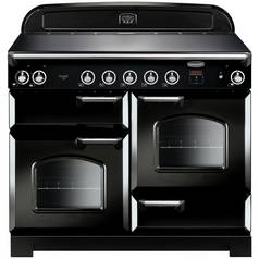 Rangemaster Classic 110cm Induction Range Cooker - Black
