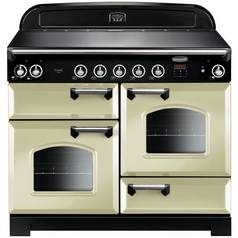 Rangemaster Classic 110cm Induction Range Cooker - Cream