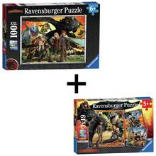 Buy orchard toys world map puzzle and poster puzzles and jigsaws ravensburger how to train your dragon puzzle twin pack gumiabroncs Choice Image