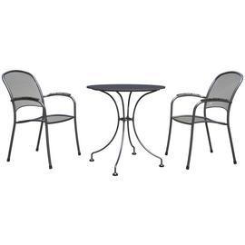 Royal Garden Carlo 2 Seater Metal Bistro Set