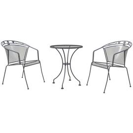 Royal Garden Elegance 2 Seater Metal Bistro Set