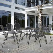 Royal Garden Savoy 6 Seater Metal Patio Set