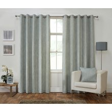 Julian Charles Iowa Lined Curtains - 229x229cm - Duck Egg