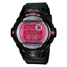 Casio Baby-G Black and Pink Telememo Watch