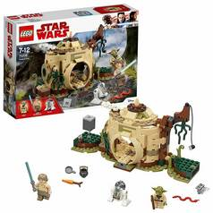 LEGO Star Wars Toy Yoda's Hut Toy Building Set - 75208