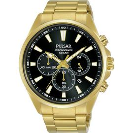 Pulsar Men's Gold Plated Stainless Steel Bracelet Watch