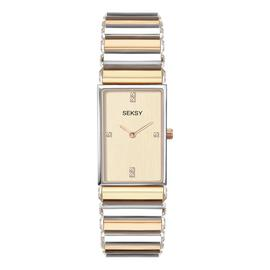 Seksy Edge Ladies Two Tone Bracelet Watch