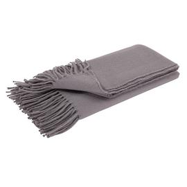 Argos Home Soft Touch Throw - 125x150cm - Grey