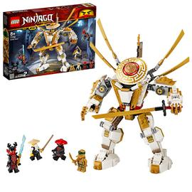 LEGO Ninjago Legacy Golden Mech Building Set - 71702
