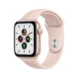 Apple Watch SE GPS 44mm Gold Alu Case/Pink Sand Sport Band