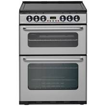 New World EC600DOm Double Electric Cooker - Silver