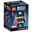 more details on LEGO Brickheadz Captain America - 41589