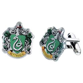 Harry Potter Slytherin Crest Cufflinks.