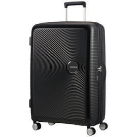 American Tourister Soundbox 8 Wheel Spinner 77 - Bass Black