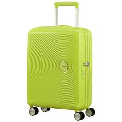 American Tourister Soundbox 8 Wheel Spinner 55 - Lime