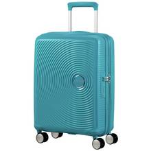 American Tourister Soundbox 8 Wheel Spinner 55 - Summer Blue