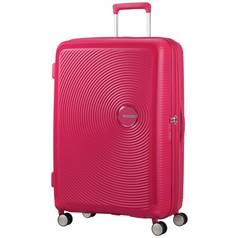 American Tourister Soundbox 8 Wheel Spinner 77 - Pink