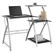buy home malibu 3 drawer desk white at. Black Bedroom Furniture Sets. Home Design Ideas