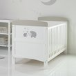more details on Obaby Hedgehog CotBed & Foam Mattress Grey (Argos Exclusive)