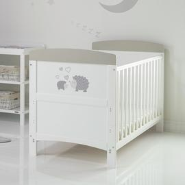 Obaby Hedgehog CotBed & Foam Mattress Grey (Argos Exclusive)