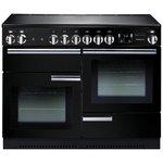 more details on Rangemaster Professional Plus 110cm Range Cooker - Black.