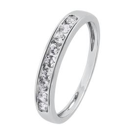 Revere 9ct White Gold Channel Set Eternity Ring