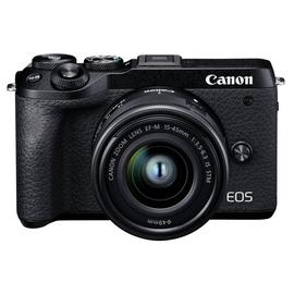 Canon EOS M6 MarkII Mirrorless Camera with 15-45mm Lens