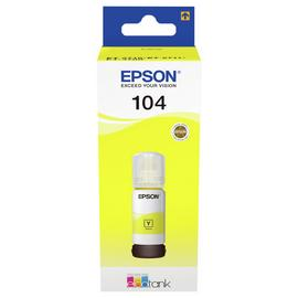 Epson 104 EcoTank Ink Bottle Refill - Yellow