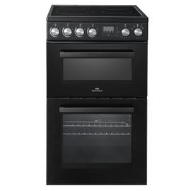 New World NWLS50TEB Twin Electric Cooker - Black