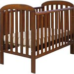 more details on East Coast Anna Drop Side Cot - Cocoa.
