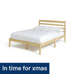 Argos Home Kaycie Double Bed Frame - Pine