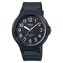 Casio Black Resin Strap Watch