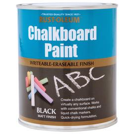 Rust-Oleum Chalkboard Paint 750ml - Matt Black