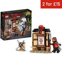 LEGO Ninjago Movie Spinjitzu Training - 70606