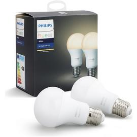 Philips Hue White E27 Bulbs  - Twin Pack
