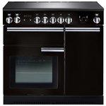 more details on Rangemaster Professional Plus 90cm Range Cooker - Black.