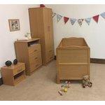more details on Saplings Kirsty Nursery Furniture Set - Beech