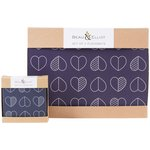 more details on Beau and Elliot Set of 4 Placemats and Coasters - Blue.