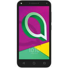 Sim Free Alcatel U5 4G Mobile Phone - Black / Grey